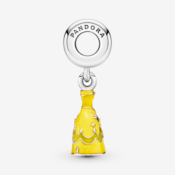 Charm colgante en plata de ley Vestido de Bella image number null