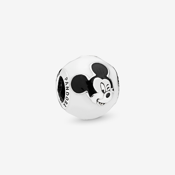 Charm en plata de ley Mickey Expresivo image number null
