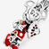 Charm colgante Minnie Mouse Año Nuevo Chino image number null