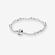 Silver bracelet, 5 clips image number null