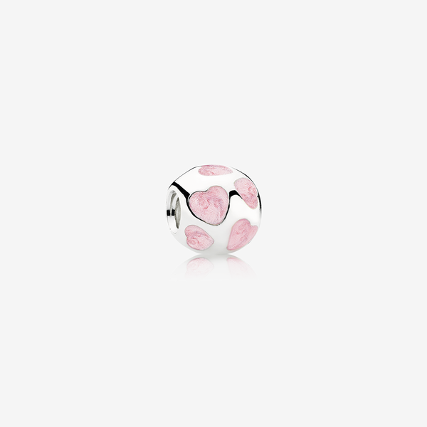 Charm Corazones Rosa image number null