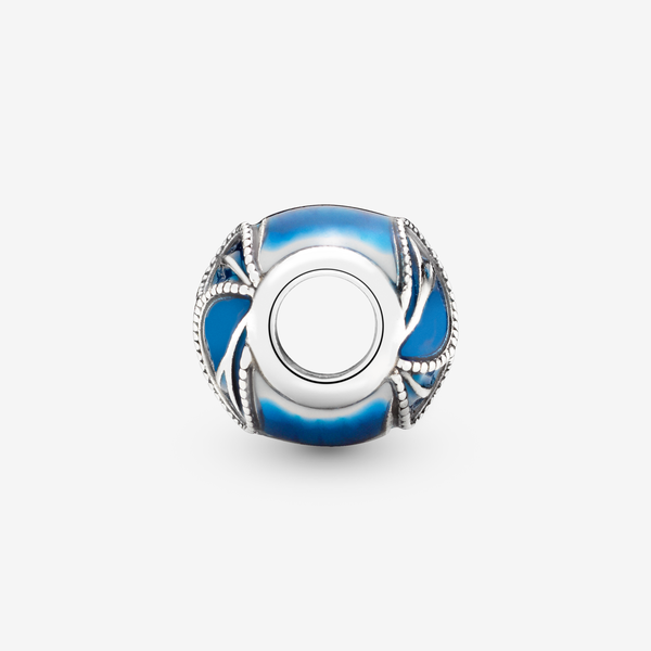 Charm en plata de ley Alas de Mariposa Azules image number null
