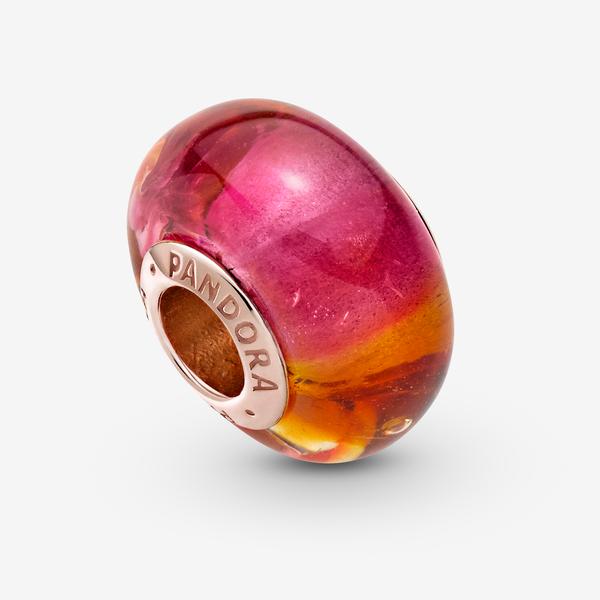 Charm en Cristal de Murano Brillo del Atardecer image number null