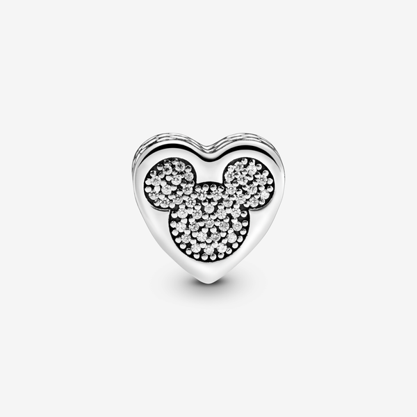 Charm en plata de ley Amor Verdadero Mickey and Minnie image number null