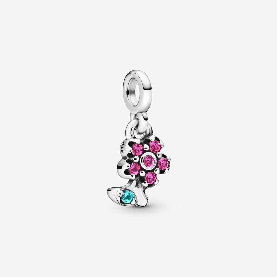 Mini Colgante Flor Preciosa Pandora ME image number 0