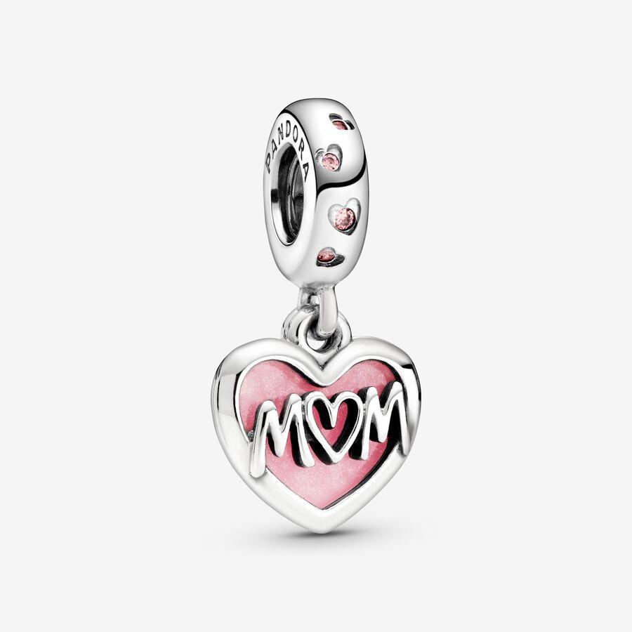 Charm Colgante Corazón Mum image number 0