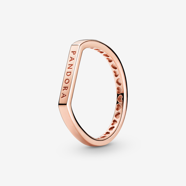 Anillo Combinable Barra con Logo image number null