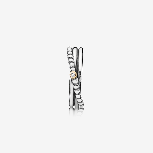 Rising Star, Silver ring, 14k, 0.01ct TW h/vs diamond image number null