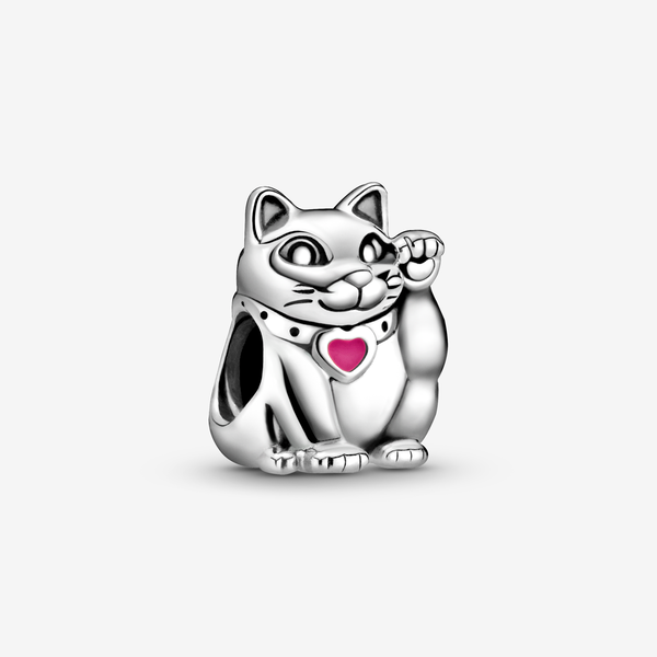Charm Gatito Rojo image number null