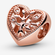 Charm de Corazón Árbol de la familia image number null