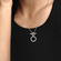 Collar en T Doble Aro image number null